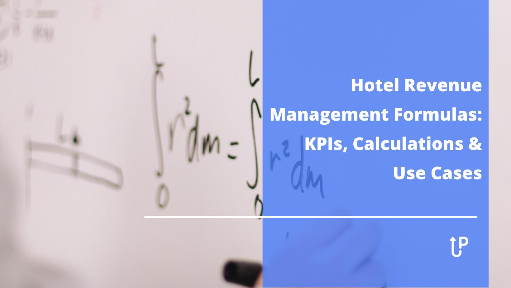 hotel revenue management formulas