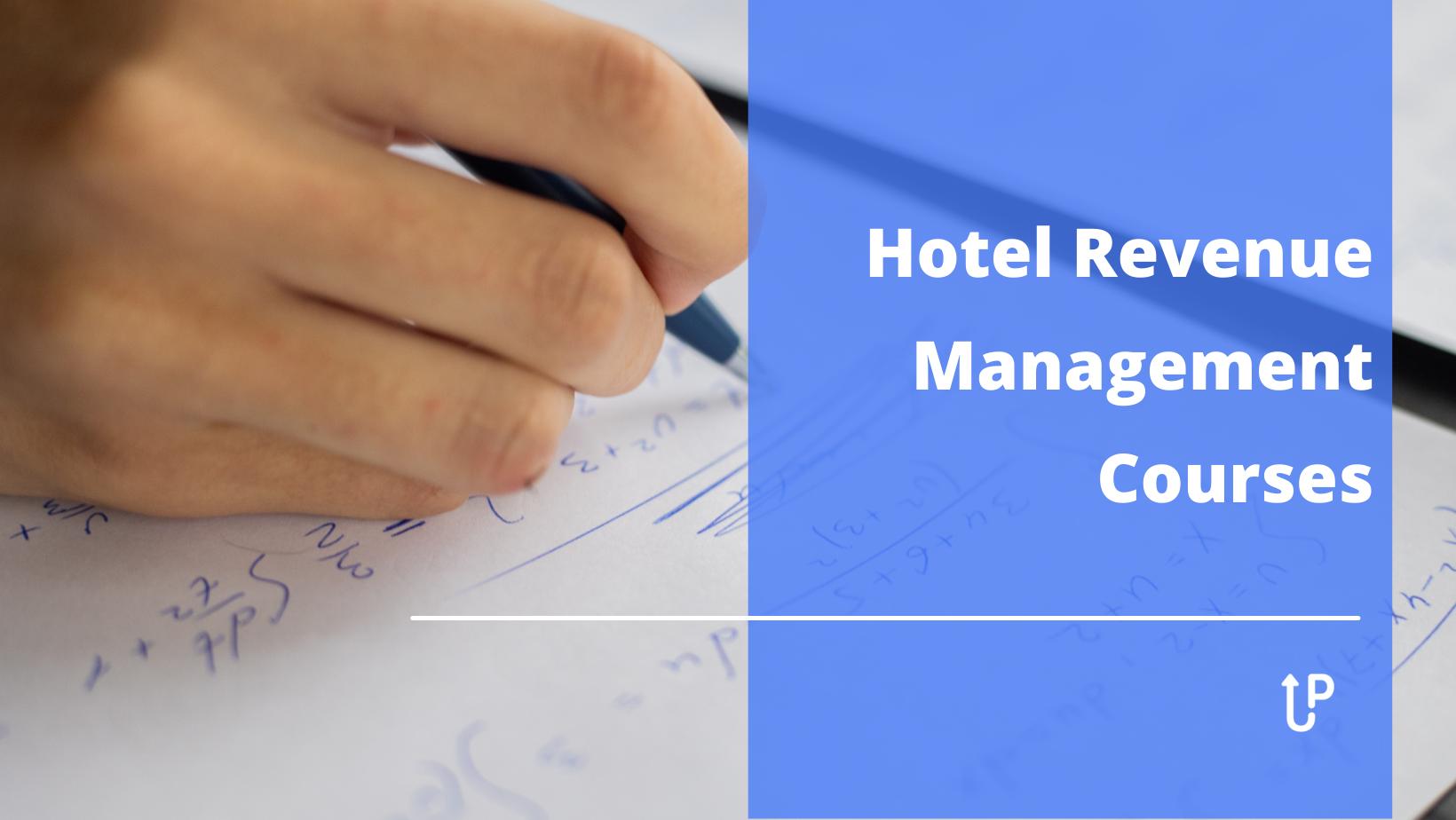 hotel revenue management courses