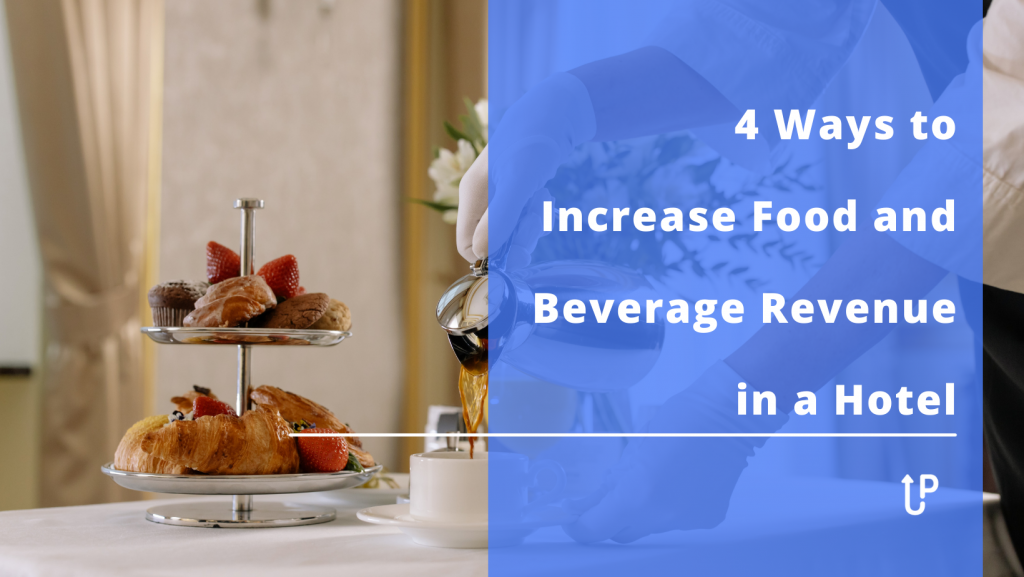 Food and beverage revenue is one of those sources that is starting to have a significant effect. In other words, F&B fits into the type of revenue that can be increased with every booking. If you can't expand the capacity of your hotel and book a large number of events, working on F&B is a good idea.