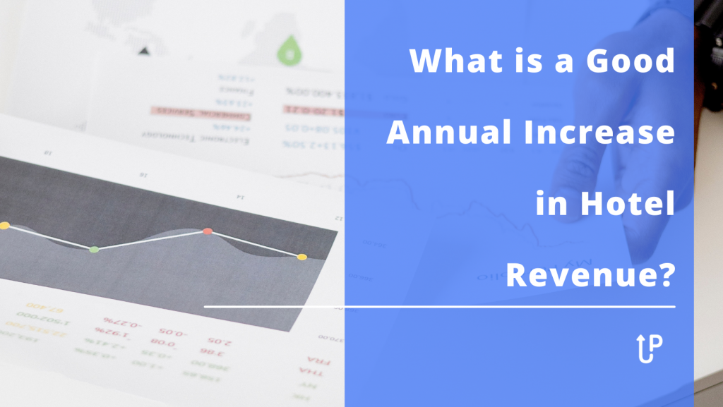 """If you own or manage a hotel, """"What is a good annual increase in hotel revenue?"""" is a question that commonly pops up. It can help you assess the success of your strategies and discover whether your hotel business performs better than average competitors. So, before you fine-tune your revenue management processes to boost your revenue growth, let's take a look at the range of realistic annual revenue increases."""